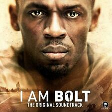 I AM BOLT (2016) 11-track CD album BRAND NEW soundtrack Usain Bolt