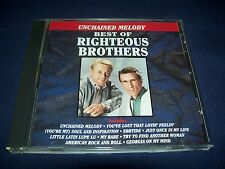 Unchained Melody - Best of  Righteous Brothers (CD1990)  LN Condition FREE Ship