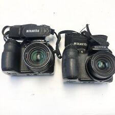 AS-IS | Lot of 2 Fujifilm FinePix S Series S1500 10.0MP Digital Cameras - Black