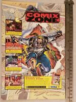 Comix Zone RARE Print Advertisement