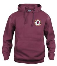 A.S Roma 1970's Football Hoodie New Sizes S-XXXL Embroidered Logo