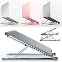Adjustable Aluminum Laptop Tablet Stand X Style Portable Desktop Holder Foldable
