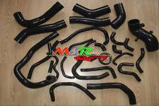 for TOYOTA SUPRA MK3 Mark III MA70 7M-GE/7M-GTE 1986-1992 silicone hose BLACK