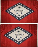 3x5 State of Arkansas Flag 3'x5' House Banner Super Polyester Grommets premium