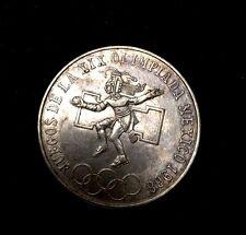 25 PESOS 1968 JUEGOS DE LA XIX OLIMPIADA DE MEXICO .720 SILVER COIN