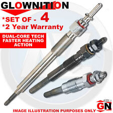 FOR TOYOTA AVENSIS COROLLA VERSO 2.2d DIESEL HEATER GLOW PLUGS SET 2AD-FHV