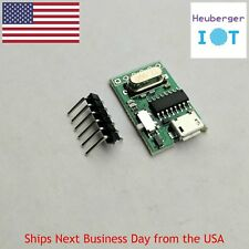 USB to TTL converter Micro UART serial CH340G CH340 3.3V 5V switch for pro mini