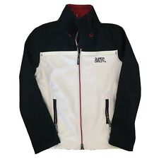 SUPERDRY Original Windtrekker Japan Hooded Jacket Men Size Small White Blue Red