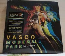 VASCO ROSSI - MODENA PARK 01 07 17 - 4 INEDITI + POSTER -ADESIVO limited 6890