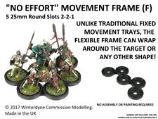 """No Effort"" FLEXIBLE Movement Tray Frame(F), 25mm Round"