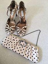 Dune Ladies Shoes And Bag Set Size 37 UK 4