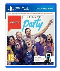 Singstar: Ultimate Party (Sony PlayStation 4, 2014)