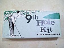 9th Hole Kit For Emergencies Golfer Novelty Gag Gift 1967 Fishlove