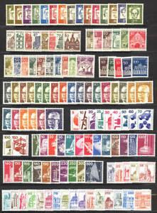 Berlin Alle Dauerserien ab 1960 - 1990 in den Hauptnummern Komplett Postfrisch