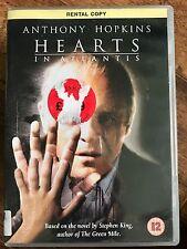 Anthony Hopkins Anton Yelchin HEARTS IN ATLANTIS  2001 Stephen King Drama UK DVD