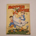 Vintage Mother Goose Nursery Rhymes Paperback Book 1941 Whitman Publishing Co