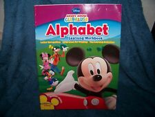 Mickey Mouse Clubhouse Alphabet & Numbers & Counting Workbook 2-Pack