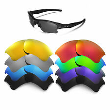 Walleva Replacement Lenses for Oakley Flak Jacket XLJ - Multiple Options