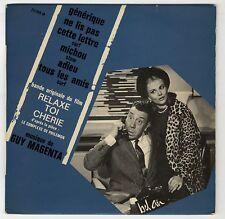EP Relaxe-toi chérie Guy Magenta Fernandel Sandra Milo 1964 EXC