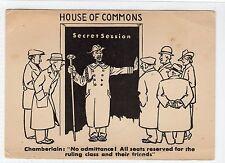 1930s British comic political postcard (C12001)