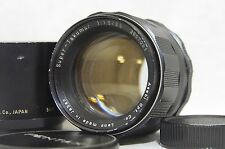 Pentax Super-Takumar 85mm F/1.9 MF Prime Lens SN3857081 for M42 Mount from Japan