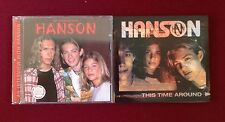 Lot of 2 Hanson Cd, An Interview with Hanson, inc Mini Poster, This Time Around