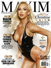 MAXIM AUSTRALIA Magazine - October 2020 ISSUE 111 Christine Quinn - NEW