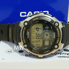 f90f702b2092 Reloj Deportivo Casio AE-2000W-9A Digital World Time Hombre Alarma 200M  Resina AE2000W