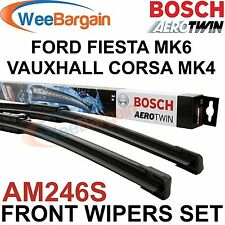 FORD FIESTA MK6 NEW Genuine BOSCH AM246S Aerotwin Front Wiper Blades Set