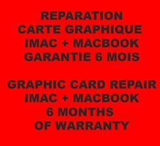 "Réparation carte graphique ATI Radeon HD6970M iMac 21"" et 27"" 2011 (repair only)"