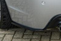 Heckansatz Seitenteile Flaps aus ABS passend für BMW 5er E60 M-Paket Limousine