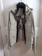 Armani Jeans beige jacket size 50 It, 40 Uk Medium?