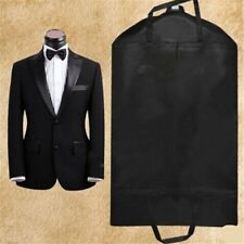 Black Breathable Suit Covers Garment Clothes Protector Bags LH