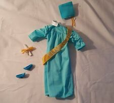Mattel Barbie Light Blue Graduation Outfit 1998 Graduation Shoes Diploma