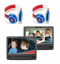 NEXTBASE CAR Series Car 9  Dual PORTABLE DVD PLAYER - 9'' screen - Grade A