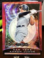 2020 Chronicles  Aaron Judge Titan Red Wave Prizm /199 (New York Yankees) #8 🔥