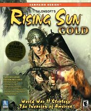 RISING SUN GOLD The Pacific Theater - Brand New in Sealed Big Box - PC Wargame