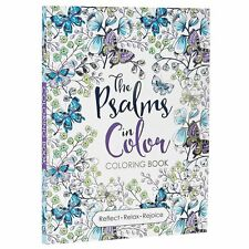 Coloring Book for Adult beautiful The Psalms in Color Art Relaxing Relief Stress