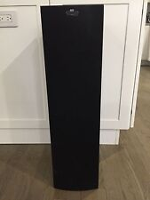 KEF Q35 Uni-Q Floor Standing Single Speaker Tower Grill Cover Black Grille