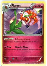 x4 Florges - 103/162 - Rare Pokemon XY Breakthrough M/NM English