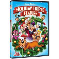 Hanna-Barbera Holiday Triple Flintstone Yogi Bear Smurfs Christmas DVD Set Kids