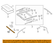 MERCEDES OEM 08-14 C300-Sunroof Wind Air Deflector 2047800044