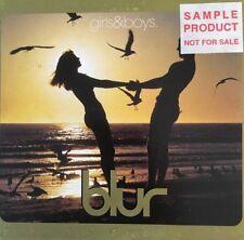 BLUR - Girls And Boys - 3 Track CD Single Australia  (promo label)