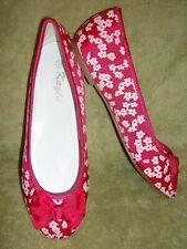Glanz Ballerinas Pink / Weiß  Gr. 38