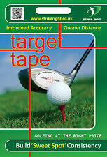 TARGET TAPE - Golf Aid - Pack of 44 stickers.