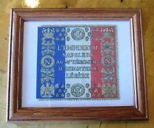Napoleonic Wars. Napoleon Bonaparte Flag...France, French Flag, 4th Regiment