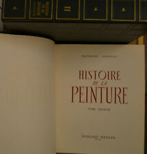 HISTOIRE DE LA PEINTURE, R. Cogniat 1954-55  2 volumi