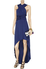 BNWT Tart Infinity Convertible Jersey Dress Indigo Blue XS X Small High Low $284