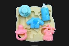 Silicone Molds, Sugarcraft Mold Mould,Cup Cake, Clay - Cute Baby