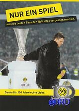 Postkarte + Borussia Dortmund + 100 Jahre + Sammler Motiv 2 + Nur ein Spiel +